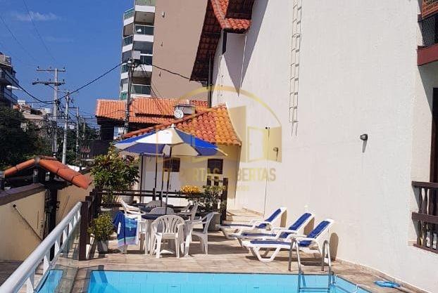 Excelente casa duplex 3 quartos em condomínio no Braga 20